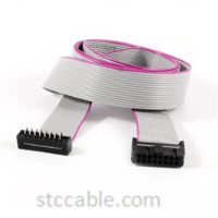 18 inch 16 Wire 16 Pin Male to Female 2.54mm Pitch IDC Ribbon Cable