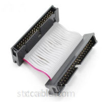 2 inch 40-Pin IDE Male to Male Gender Changer Ribbon Cable