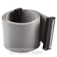2.54mm Pitch 2x20P 40 Pin 40 Wire female to female IDC Flat Ribbon Cable 50 inch