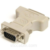 DVI to VGA Cable Adapter - female to male