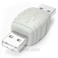 USB A to USB A Cable Adapter Male to male